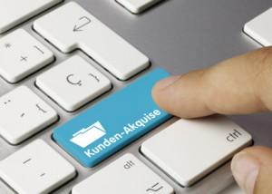 Stammplatz Kunden - Akquise Tastatur